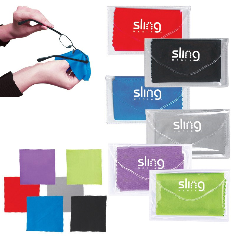 Microfiber Screen Cleaner in Pouch