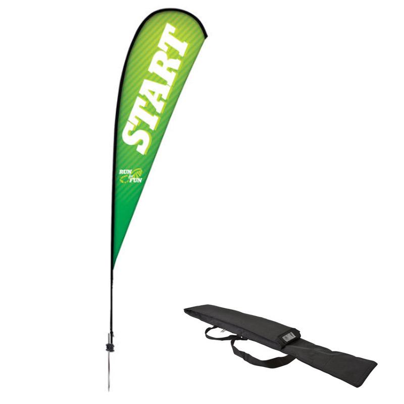 Premium Teardrop Sail Sign Kit