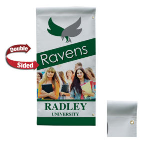 Opaque Vinyl Double-Sided Boulevard Banner