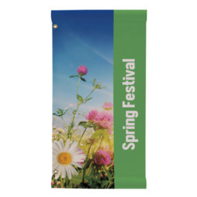 Fabric Rectangle Boulevard Banner