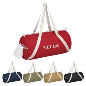 Lightweight Cotton Duffel Bag