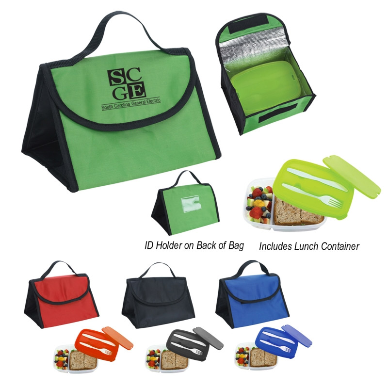Container with Lunch Bag Combo Bag