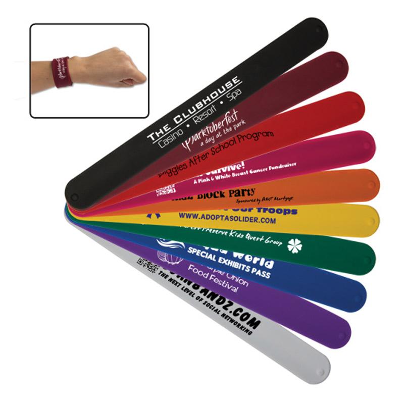 Silicone Slap Bracelets