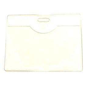 Clear Vinyl Badge Holder (blank)