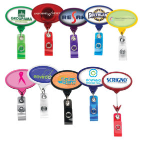 Jumbo Oval Badge Reel