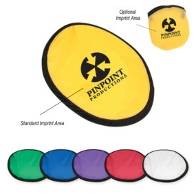 """10"""" Flying Disc with Matching Pouch"""