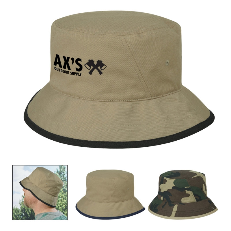Cotton Twill Bucket Cap