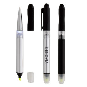 Illuminate 4-In-1 Highlighter Stylus Pen with LED