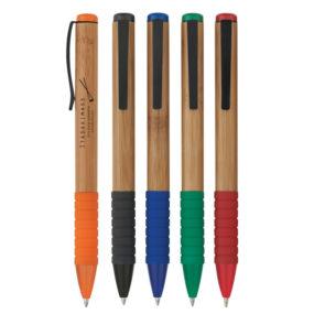 Bamboo Design Twist Pen