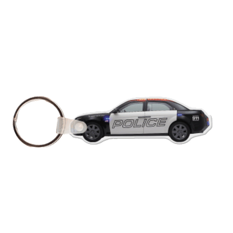 Police Car Key Tag