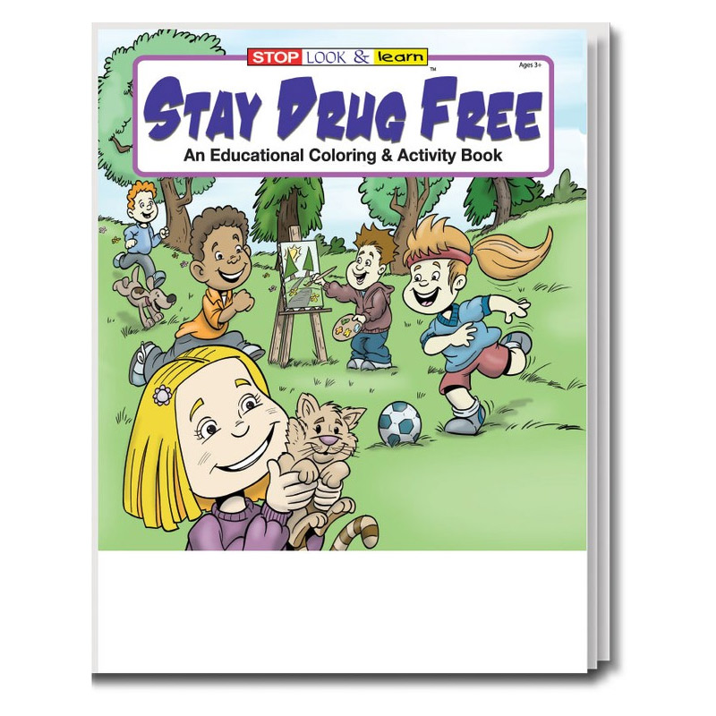 Stay Drug Free Coloring & Activity Book