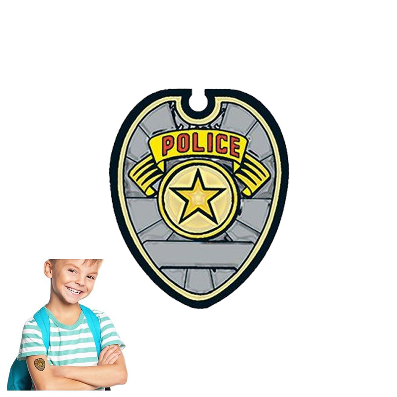 Police Badge Tattoo