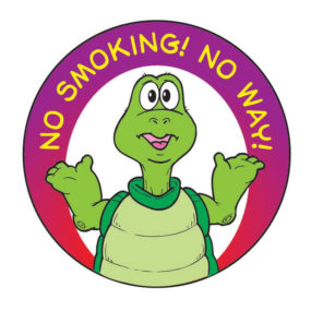 """No Smoking! No Way!"" Sticker"