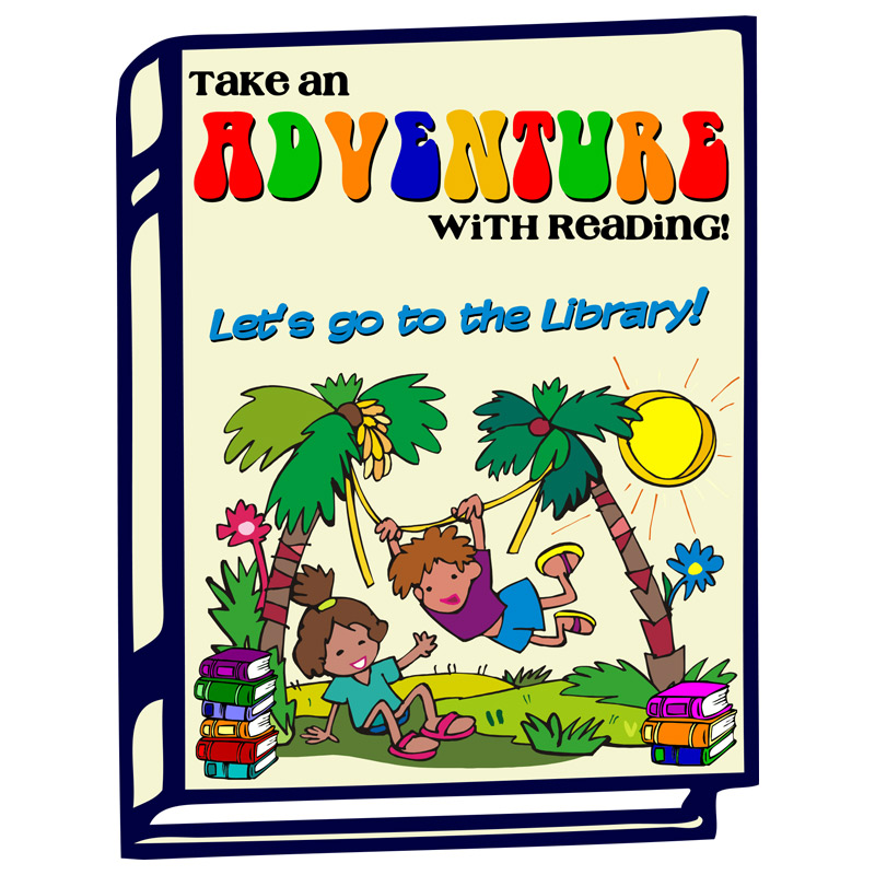 """Take an Adventure with Reading"" Coloring Book"