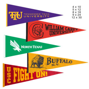 One Color Pennant
