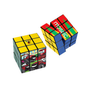 Rubik's® 9-Panel Full Color Cube