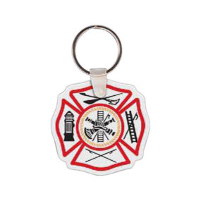 Maltese Cross Key Tag