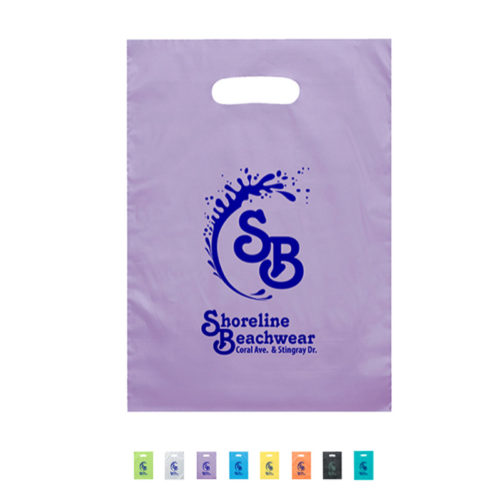 Aster Frosted Die Cut Bag