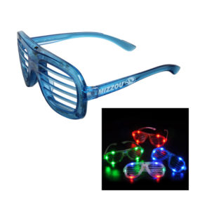 Light Up Slotted Glasses
