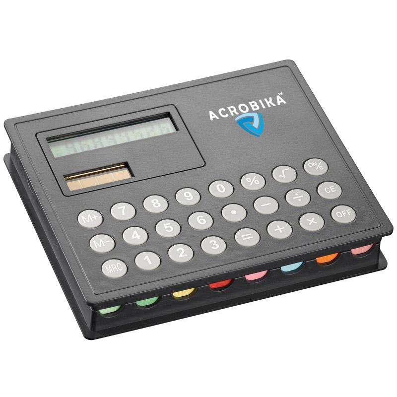 Calculator & Sticky Note Case