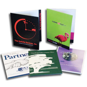 Presentation Folder with a Full Color Imprint