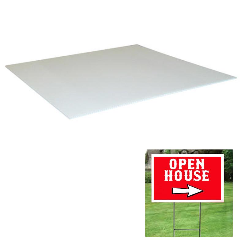 Corrugated Plastic Sign (blank)