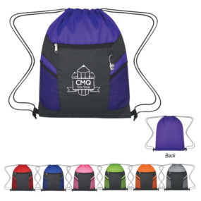 Rip-Stop Drawstring Backpack