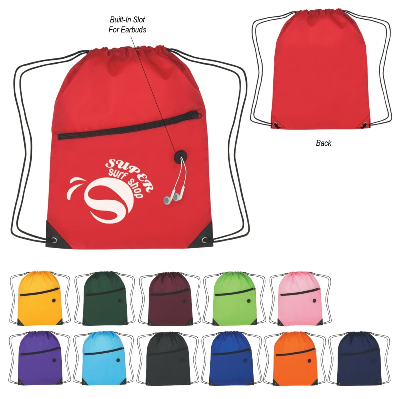 Sport Pac with Front Zipper