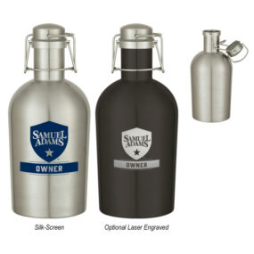64oz. Stainless Growler Bottle