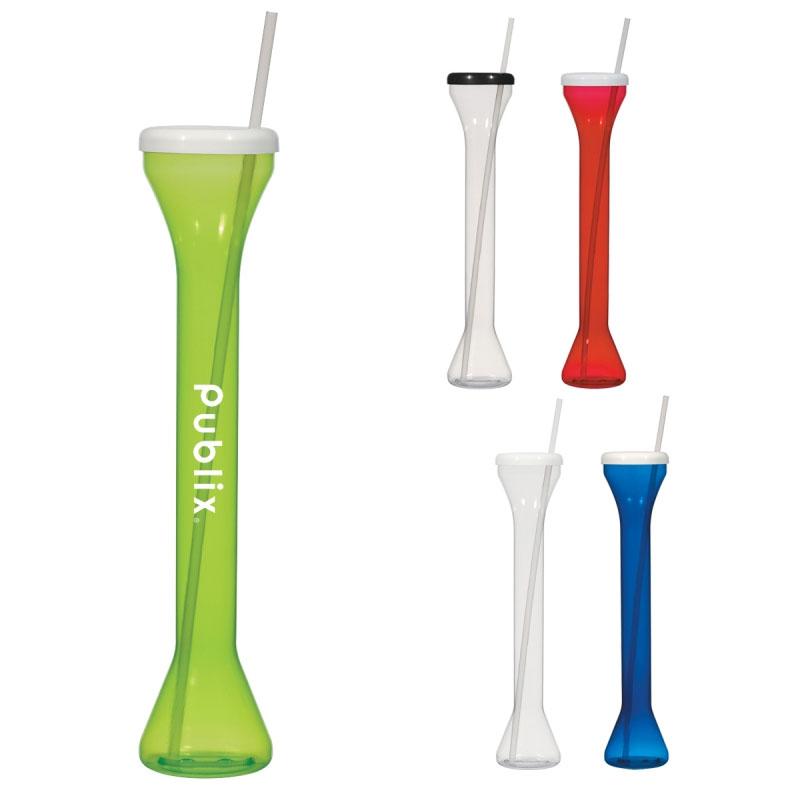 24oz. Yard Cup with Straw