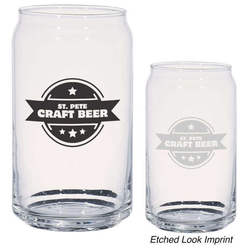 16oz. Ale Can Glass