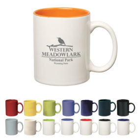 11oz. Colored Stoneware Mug