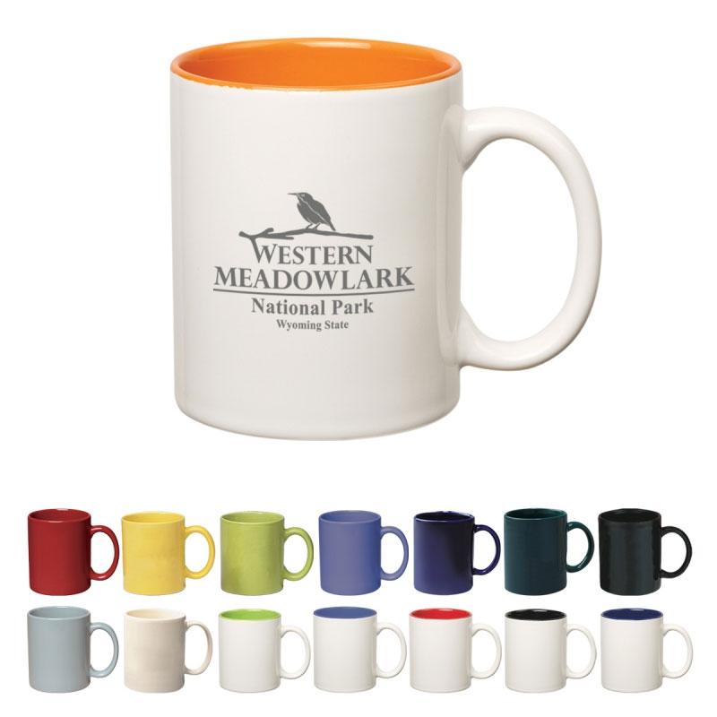 11oz. Colored Stoneware Mug