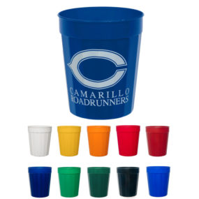 16oz. Fluted Plastic Cups