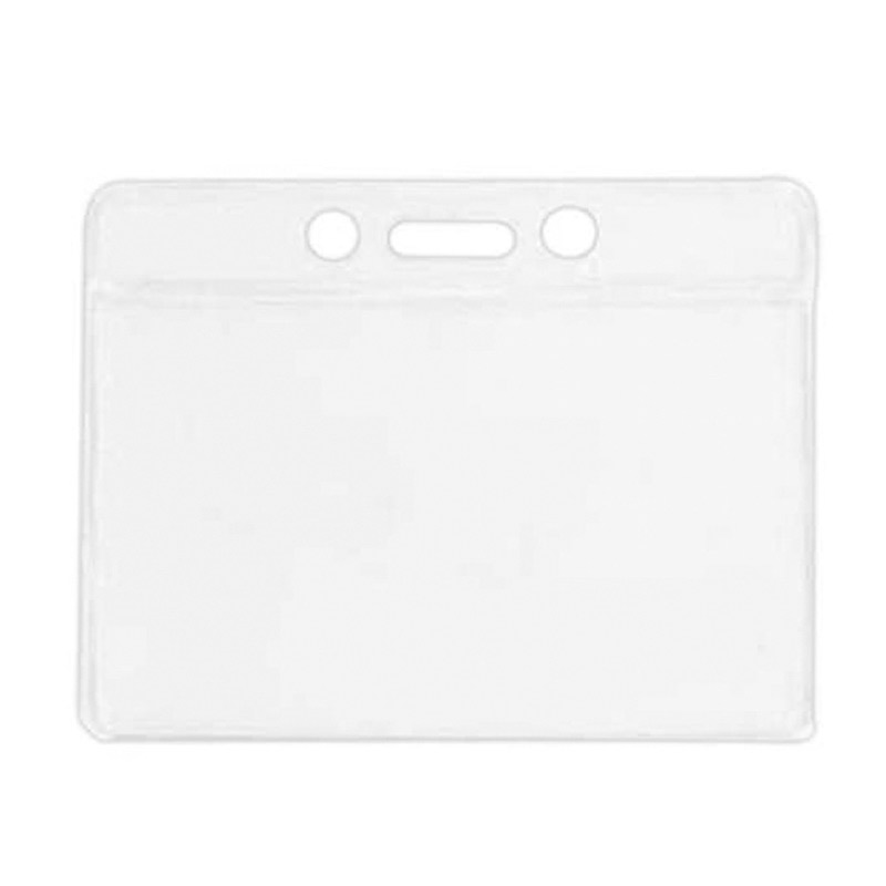 Clear Vinyl Badge Holder (blank)
