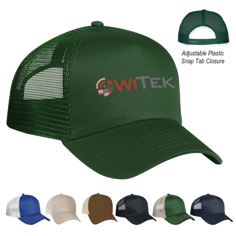 5 Panel Trucker Cap