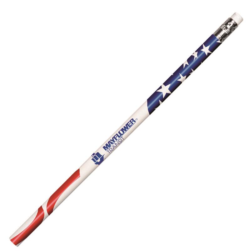 Patriotic Foil Pencil