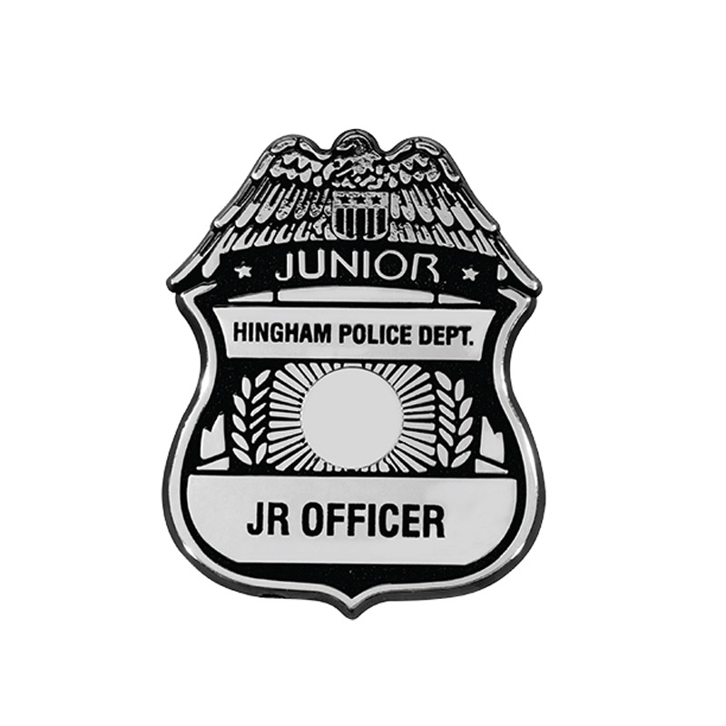 Police Badge with Clip