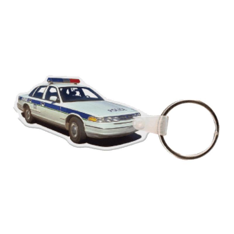Police Car Key Tag
