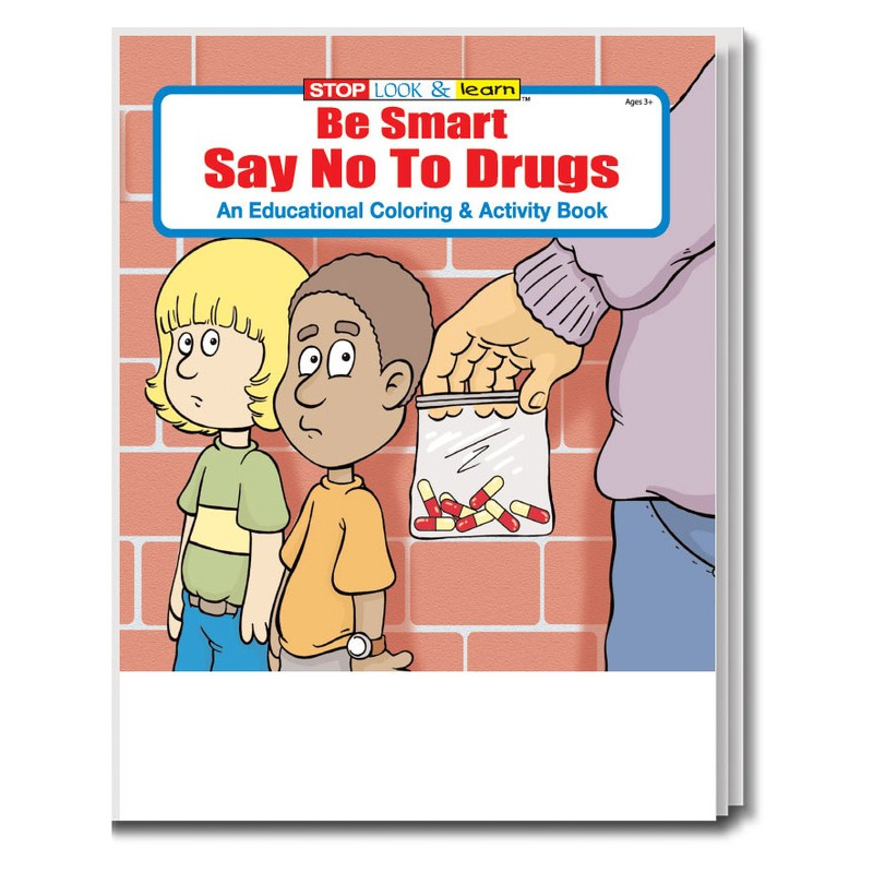 Say NO to Drugs Coloring & Activity Book