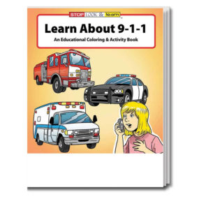 Learn About 911 Coloring & Activity Book