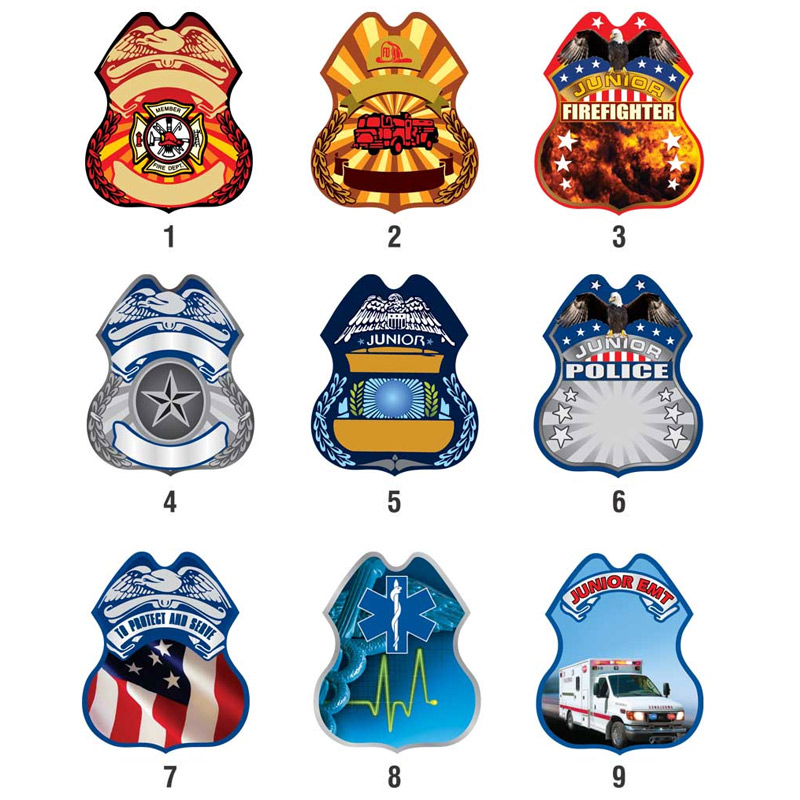 Full Color Safety Badges