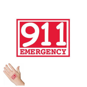 911 Emergency Tattoo