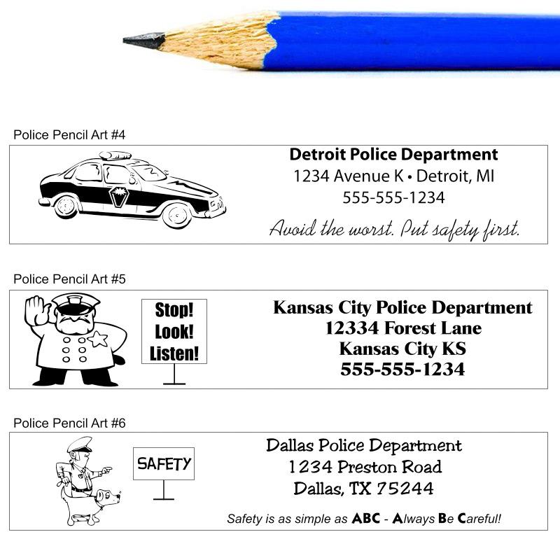 Police Pencil Art