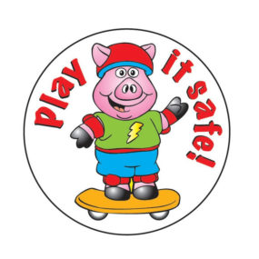 Play it Safe Sticker