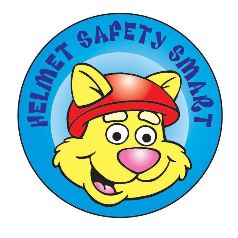 Helmet Safety Smart Sticker