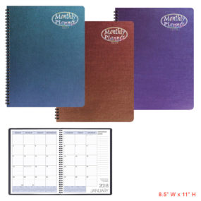 Large Monthly Planner-Illusion Cover