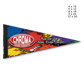 Premium Full Color Pennant