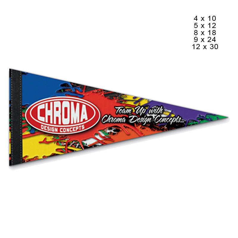 Premium Full Color Pennant