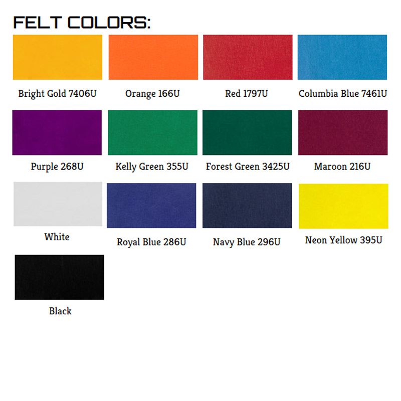Pennant Stock Colors